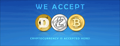 Which cryptocurrencys are accepted