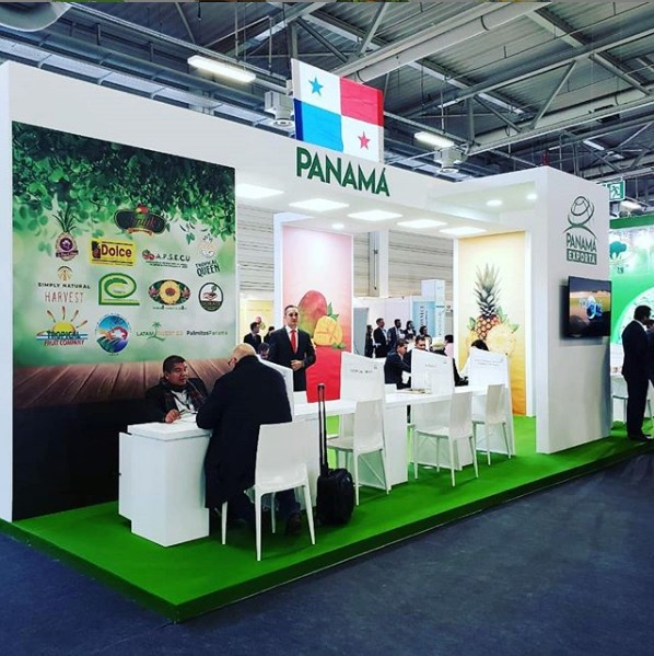 Panama stand at FRUIT LOGISTICA 2019