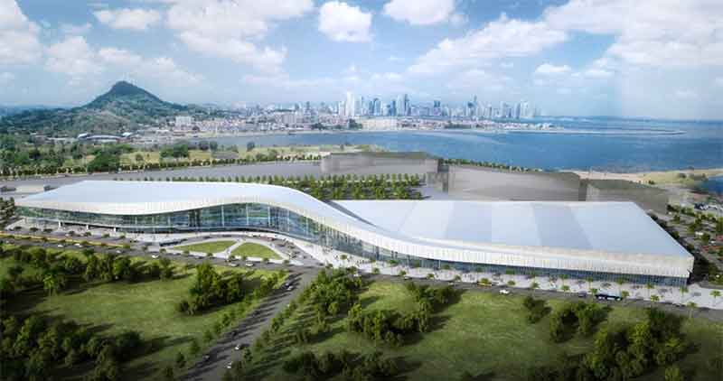 Panama's new Causeway convention centre