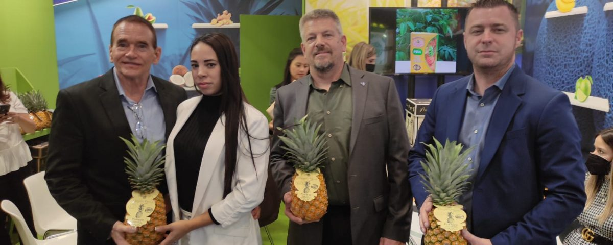 Colorada Fresh owners part-of-Panama govt exhibit Fruit Attraction Madrid 2021
